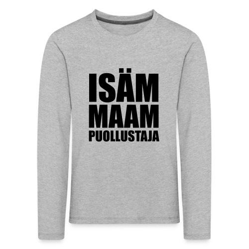 PuollustajaB - Lasten premium pitkähihainen t-paita