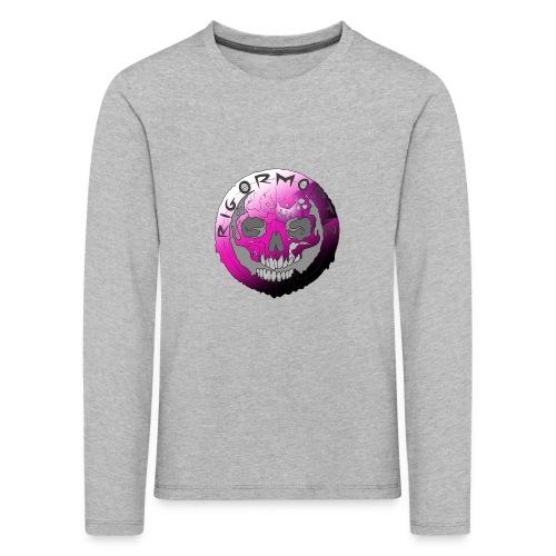 Rigormortiz Purple Design - Kids' Premium Longsleeve Shirt