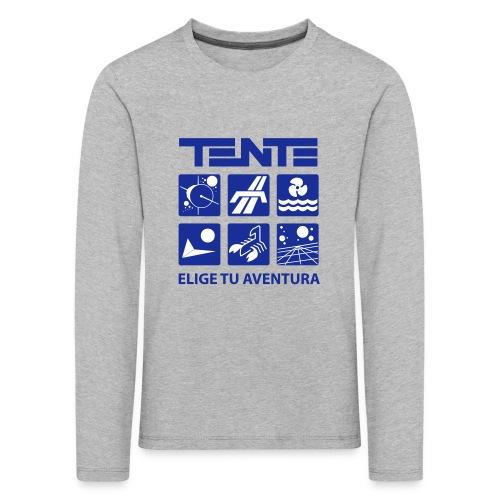 Series de TENTE: Elige tu aventura - Camiseta de manga larga premium niño