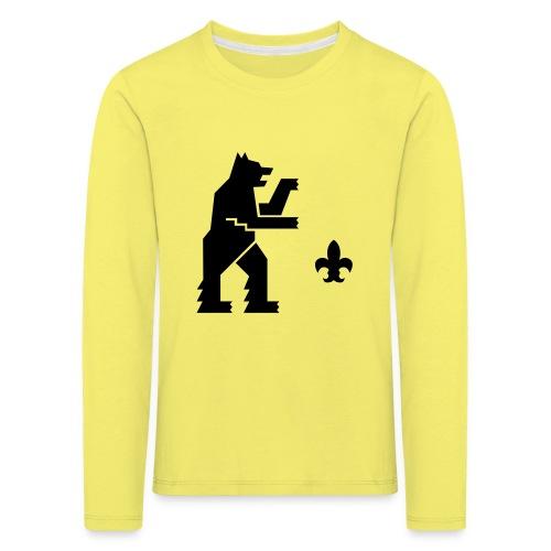 hemelogovektori - Lasten premium pitkähihainen t-paita