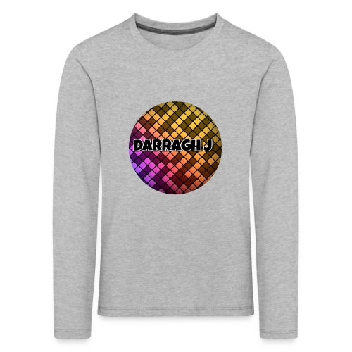 Darragh J logo - Kids' Premium Longsleeve Shirt
