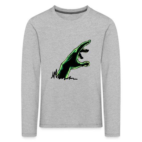 main_zombie - T-shirt manches longues Premium Enfant