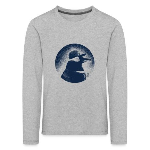 Pinguin dressed in black - Kids' Premium Longsleeve Shirt