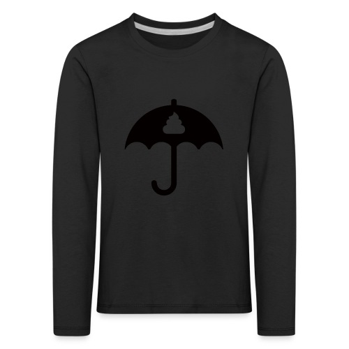 Shit icon Black png - Kids' Premium Longsleeve Shirt