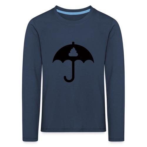 Shit icon Black png - Kids' Premium Longsleeve Shirt