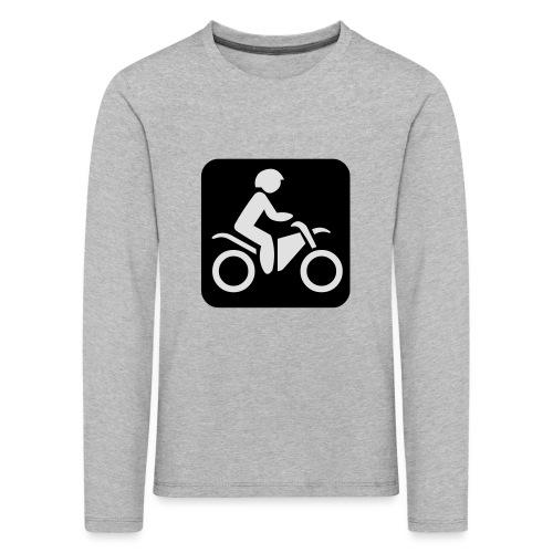 motorcycle - Lasten premium pitkähihainen t-paita