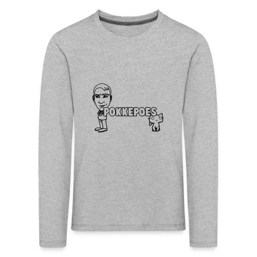PokkepoesOntwerp3 png - Kinderen Premium shirt met lange mouwen