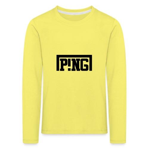 ping1 - Kinderen Premium shirt met lange mouwen