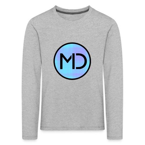 MD Blue Fibre Trans - Kids' Premium Longsleeve Shirt