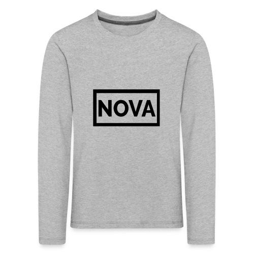 Red Nova Snapback - Kids' Premium Longsleeve Shirt