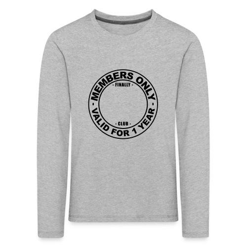 Finally XX club (template) - Kids' Premium Longsleeve Shirt