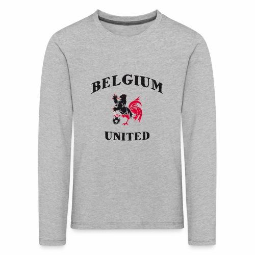 Belgium Unit - Kids' Premium Longsleeve Shirt