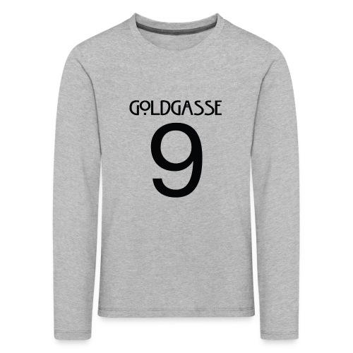 Goldgasse 9 - Back - Kids' Premium Longsleeve Shirt