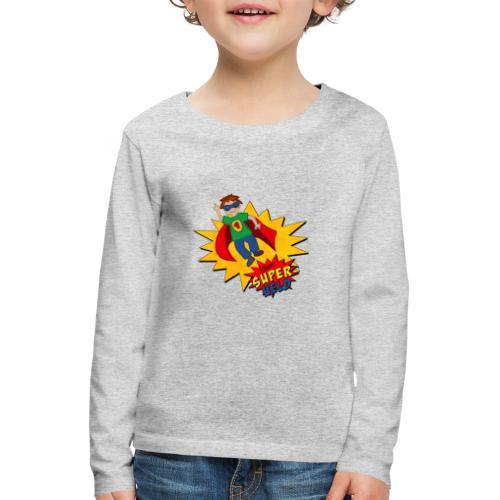 kleiner Superheld - Kinder Premium Langarmshirt