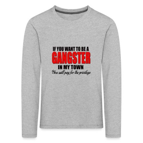 ville gangster - T-shirt manches longues Premium Enfant