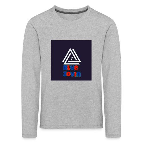 BlueZovinshirt - Kids' Premium Longsleeve Shirt