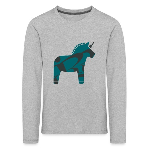 Swedish Unicorn - Kinder Premium Langarmshirt