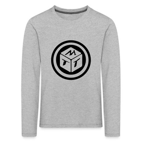 mb logo klein - Kinder Premium Langarmshirt