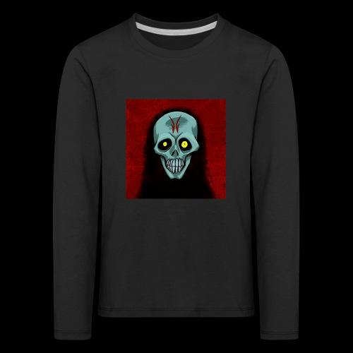 Ghost skull - Kids' Premium Longsleeve Shirt