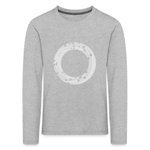 NBG Icon Weiß - Kinder Premium Langarmshirt