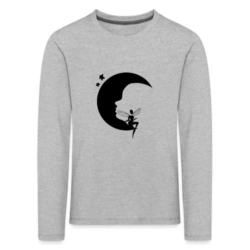 Fée de la Lune - T-shirt manches longues Premium Enfant