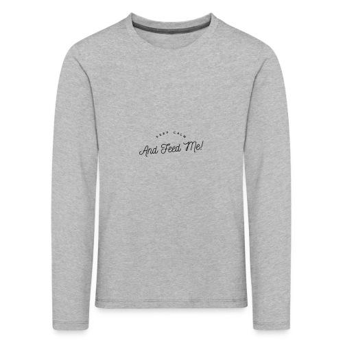 Baby Bekleidung mit lustigem Spruch, Geschenkidee - Kinder Premium Langarmshirt
