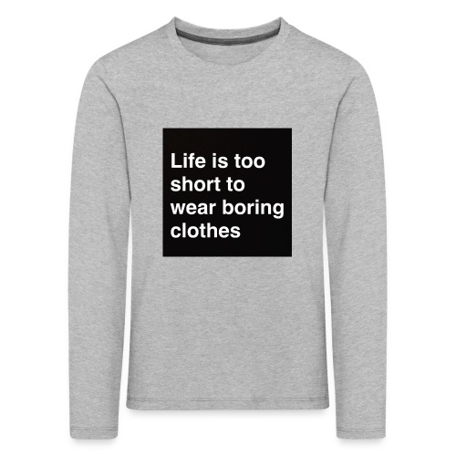 3B957538 F261 4863 A12D 0B2BC74075C7 - Kids' Premium Longsleeve Shirt
