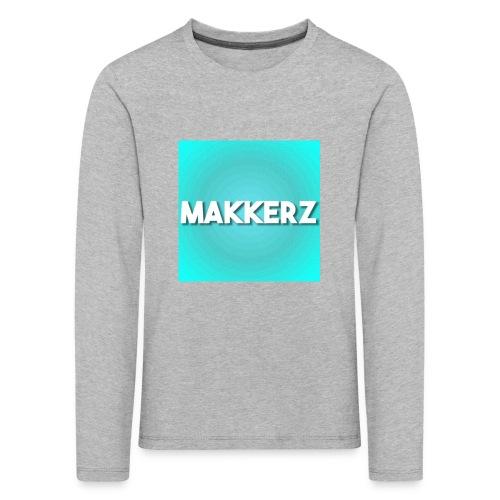 Makkerz Logo 2 - Kids' Premium Longsleeve Shirt