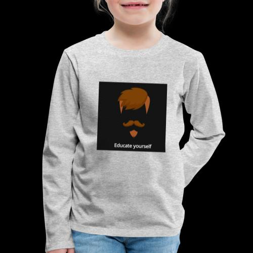 educate yourself - Kids' Premium Longsleeve Shirt