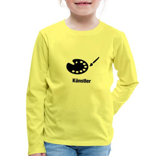 Künstler - Kinder Premium Langarmshirt