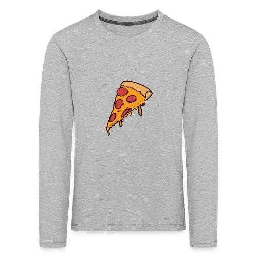 Pizza - Camiseta de manga larga premium niño