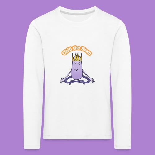 Chill the Bean - Kids' Premium Longsleeve Shirt
