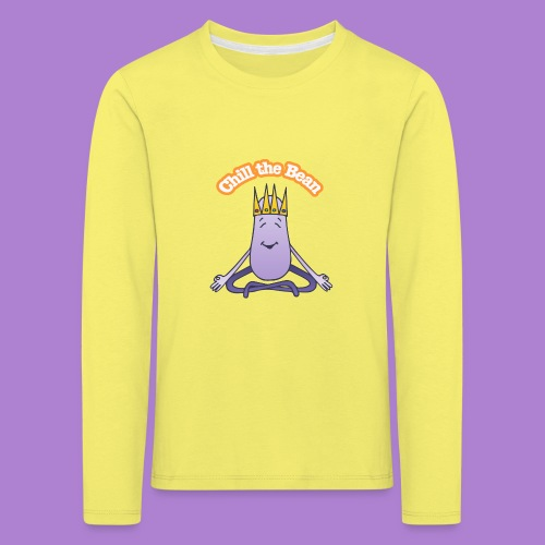 Chill the Bean - Kids' Premium Longsleeve Shirt