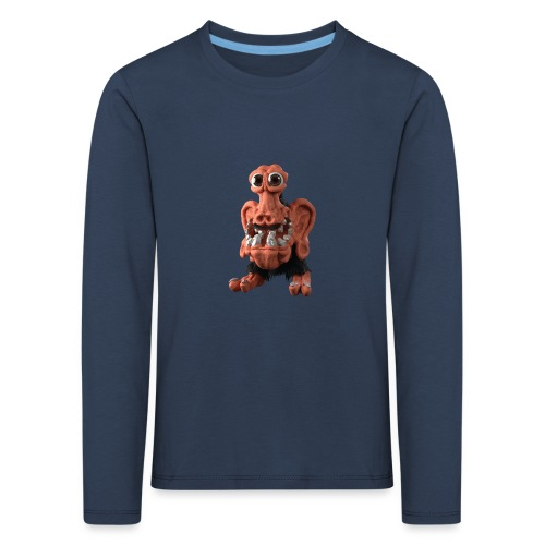 Very positive monster - Kids' Premium Longsleeve Shirt