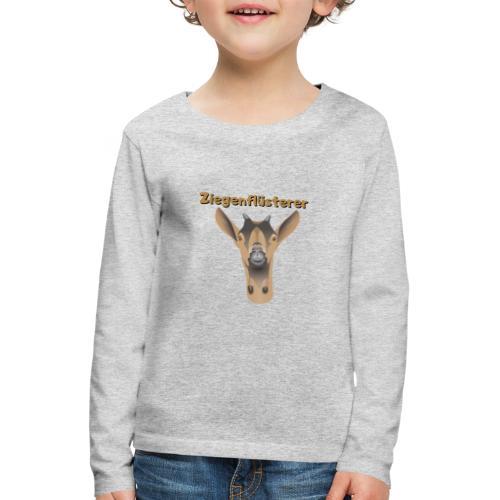 Ziegenflüsterer - Kinder Premium Langarmshirt