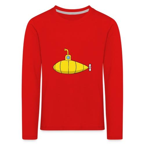 Submarine - Camiseta de manga larga premium niño