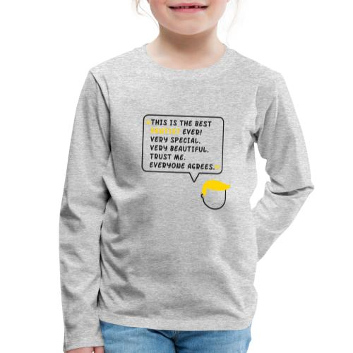 This is the best dentist ever (DR1) - Kinder Premium Langarmshirt