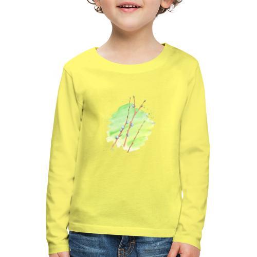 Weidenkätzchen - Kinder Premium Langarmshirt