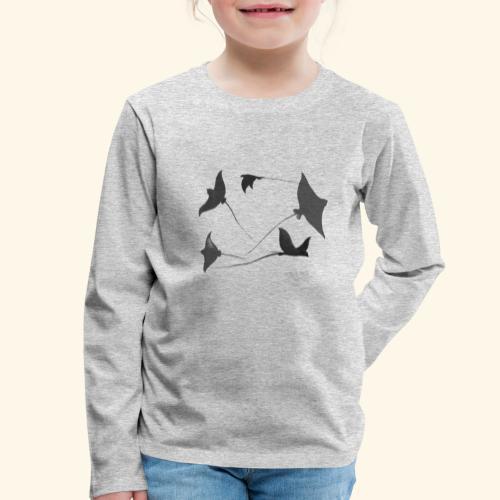 Rochen 2 - Kinder Premium Langarmshirt