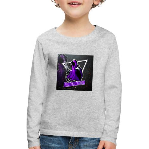 Diamonita ghost - Børne premium T-shirt med lange ærmer