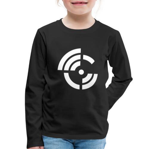electroradio.fm logo - Kids' Premium Longsleeve Shirt