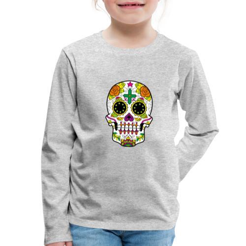 skull4 - Maglietta Premium a manica lunga per bambini