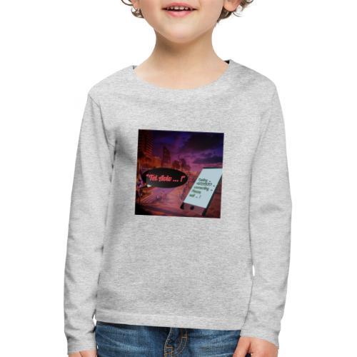 Tel Aviv is calling - Sehnsuchtsorte - Kinder Premium Langarmshirt