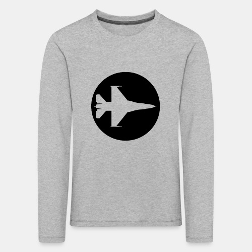 F-16 Viper / Fighting Falcon jet fighter / F16 - Kids' Premium Longsleeve Shirt