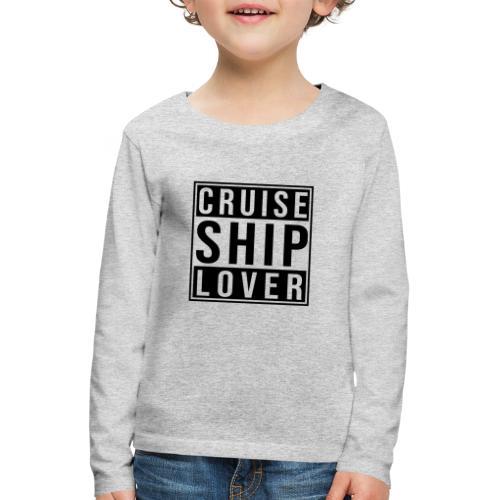Kreuzfluenzer - Cruise Ship Lover - Kinder Premium Langarmshirt