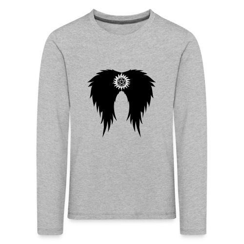 Supernatural wings (vector) Hoodies & Sweatshirts - Kids' Premium Longsleeve Shirt