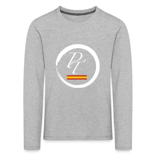 PT blanco spain españa - Camiseta de manga larga premium niño