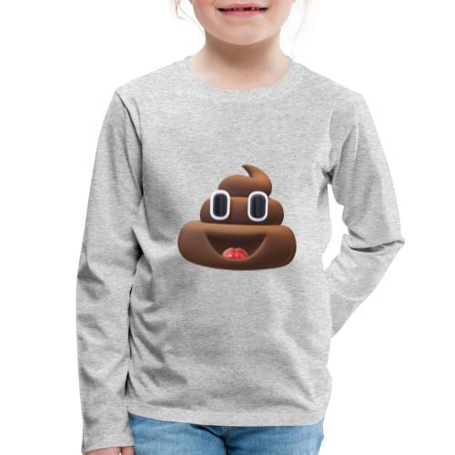 caca - T-shirt manches longues Premium Enfant