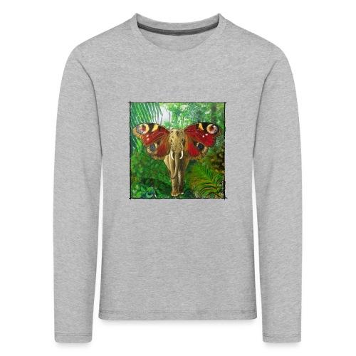 Schmettefant im Dschungel - Kinder Premium Langarmshirt