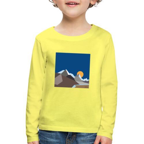 Himalayas - Kids' Premium Longsleeve Shirt